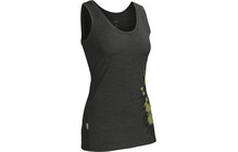 Icebreaker Tech Tank Wild Bunch top Femme BF150 jaune/gris